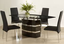 modern glass dining table. Latest Modern Glass Wood Dining Table B