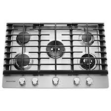kitchenaid 30 inch gas cooktop stainless steel rc willey furniture