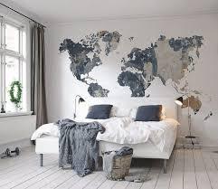 0 interesting original wall decor ideas world map