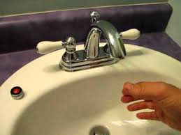 how to clean a sink faucet screen