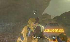 Link Gets Passionately Kissed By Loone In The Legend Of Zelda: Breath Of  The Wild | NintendoSoup