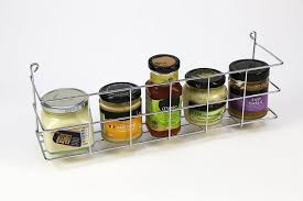 Kitchen Wall Racks And Storage Andrew James 4 Tier Spice Herb Rack Wall Mountable Or Kitchen