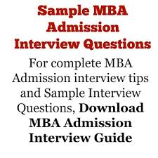 Answering Tell Us About Yourself: Mba Admission Interview (10-20-30 ...