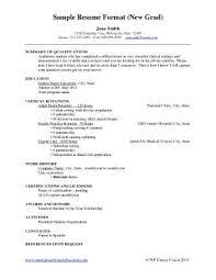Gallery Of New Graduate Nurse Resume Rn Sample Writing Resume
