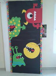 Decoration  Monsters door deco!