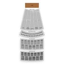 Civic Opera House Seating Chart Seatgeek
