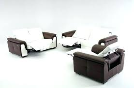 modern reclining couch contemporary reclining sofa