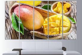 mango extra large wall art kitchen art