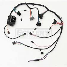 chevy full size chevy under dash wiring harness, factory style, 1958 1958 chevrolet apache wiring harness at 1958 Chevy Wiring Harness