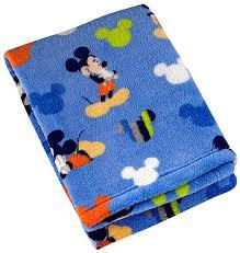 Disney Baby Mickey Mouse Plush Baby Blanket - Toys