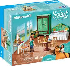 Playmobil Luckys Schlafzimmer 9476 Spirit Riding Free Online
