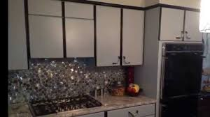 image of spray painting wood cabinets