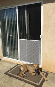 dog proof screen door grill