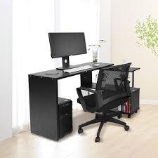 office corner table. New Office Computer Desk Corner Table W/ Bookshelf Study Student Rotary White AU E