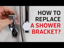 shower doctor tv how to replace a shower head holder slider bracket you