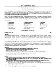 Chair Of Media Studies Resume Template Premium Resume Samples