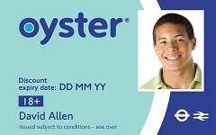 18 student oyster photocard