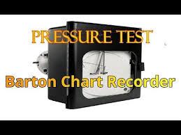 Barton Gas Measurement Chart Recorders Youtube