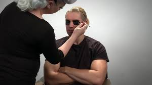 tyler breeze transforms into sting wwe halloween makeup tutorial tune pk