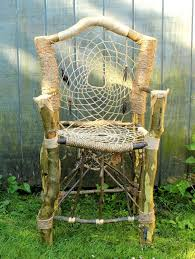 Tree Branch Dream Catcher Dreamcatcher Throne No100 Handmade Recycled Tree Limb Furniture 62