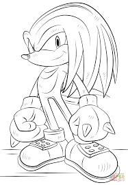 Small Picture Sonic underground coloring pages