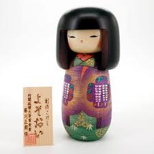 japanese doll wooden kokeshi handmade in japan yosooi