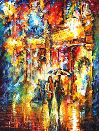 beautiful painting home decor best friends in the city colorful oil paintings canvas modern fine art