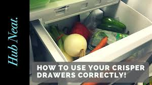 refrigerator vegetable drawer. how to use your crisper drawers in fridge correctly refrigerator vegetable drawer