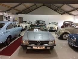 Classic cars in our showroom - Picture of Classic Cats, Stellenbosch ...