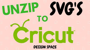 Explore, search and find the best fitting icons or vectors for your projects using wide variety vector library. How To Unzip An Svg File And Import Into Cricut Design Space Youtube