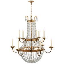 paris flea market grande chandelier in antique b