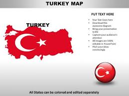 Country Powerpoint Maps Turkey Powerpoint Templates
