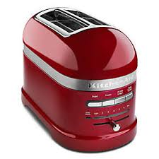 kitchenaid toaster red. pro line\u0026#174; series 2-slice automatic toaster kitchenaid red