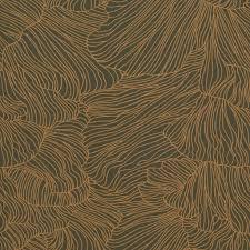 Ferm Living Behang Coral Donker Groen Goud 53x1000cm Wonenmetlefnl