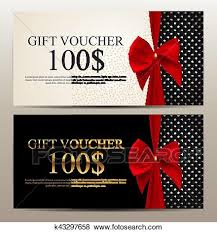 Gift Voucher Template Gift Voucher Template Vector Illustration For Your Business