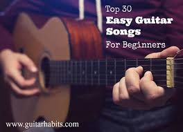 Guitar Chords Chart For Beginners Songs Top 30 Easy Guitar Chord Songs For Beginners Guitarhabits