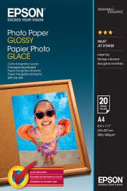 Photo <b>Paper Glossy</b> - A4 - 20 sheets - <b>Epson</b>