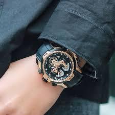 <b>Reef Tiger</b>/<b>RT</b> Mens Sport <b>Watches</b> Rubber Strap Complicated Dial ...