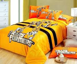 full bedding sets for boys transformers bedding full size cotton yellow transformer kids bedding set boys