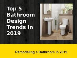 Design Trends Toilet Seats Top 5 Bathroom Design Trends In 2019 By Ramsaybolton1323 Issuu