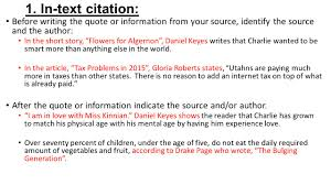 Citing Sources Two Ways To Cite Sources In Your Essay Ppt Download