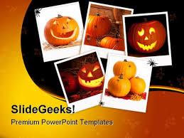 photo collage template powerpoint halloween collage nature powerpoint template 1010