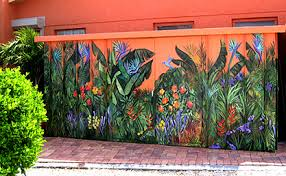 Tropical Mural by Blaine Whitford
