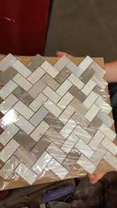 Beige Kitchen kitchen lowes backsplash in beige and grey herringbone wall tile 2592 by guidejewelry.us