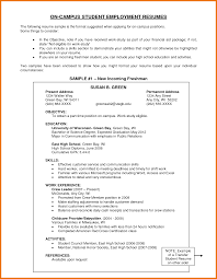 Fair Resume How To Write A Good Objective For Career Goal Resume