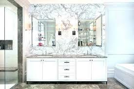 recessed bathroom medicine cabinets. Terrific Bathroom Medicine Cabinet Mirror With  Twin Recessed Cabinets No E