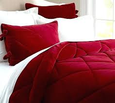 red flannel comforter red duvet cover queen burdy red comforter
