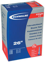 <b>Камера</b> 26 <b>Schwalbe AV14</b> SV14 XX-light