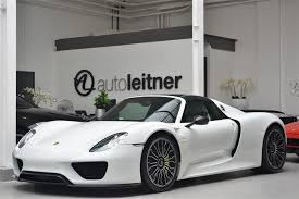 918 spyder white. porsche 918 spyder for sale white 8