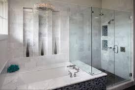 Glass Tile Bathroom Designs Awesome Decoration